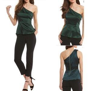 NWT Antonio melani one shoulder vera blouse
